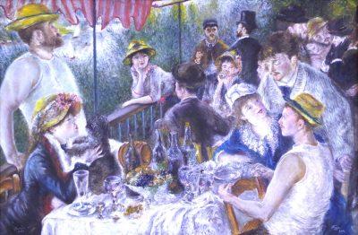 Karl Kujau Das Frühstück der Ruderer Pierre Auguste Renoir
