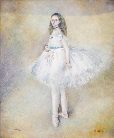 """Karl Kujau Die Balletttänzerin"""" von Pierre Auguste Renoir"""