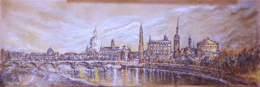 Karl Kujau Dresden-Canaletto Blick