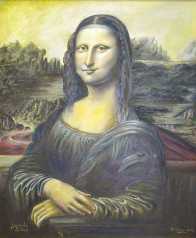 Karl Kujau Mona Lisa Leonardo da Vinci