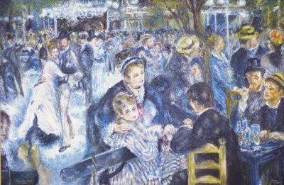Karl Kujau Tanz im Garten der Moulin de la Galette 1876 Pierre Auguste Renoir