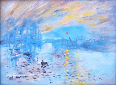 Karl Kujau Impression aufgehende Sonne Claude Monet 1872